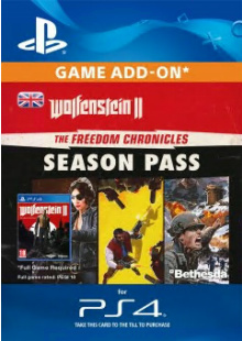 Wolfenstein II: The Freedom Chronicles Season Pass PS4