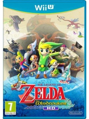 The Legend of Zelda: The Wind Waker HD Nintendo Wii U