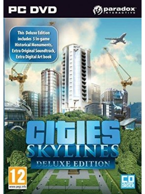 Cities Skylines Deluxe Edition PC