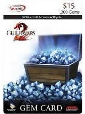 NCSOFT - Guild Wars 2 Gem Card $15