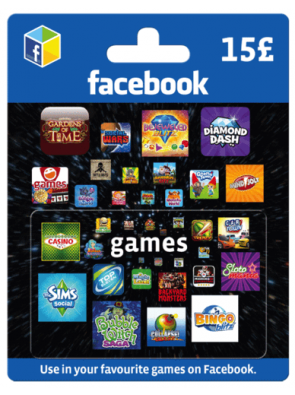 Facebook Game Card - 15 GBP
