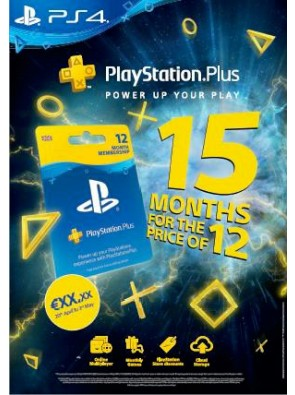 PlayStation Plus - 15 Month Subscription (UK)