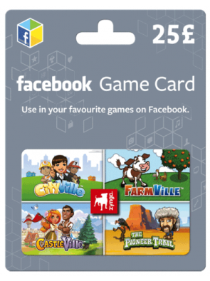 Facebook Game Card - 25 GBP