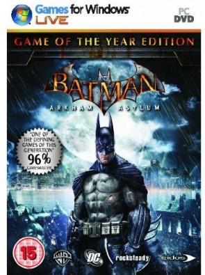 Batman : Arkham Asylum- Game of the year (PC)