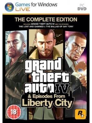Grand Theft Auto IV 4: Complete Edition PC