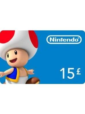 Nintendo eShop £15 card Nintendo 3DS/DS/Wii/Wii U