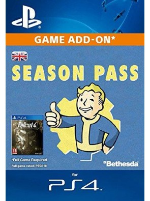 Fallout 4 Season Pass Bundle PS4 PSN Code