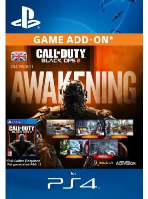 Call of Duty Black Ops III 3 Awakening DLC PS4