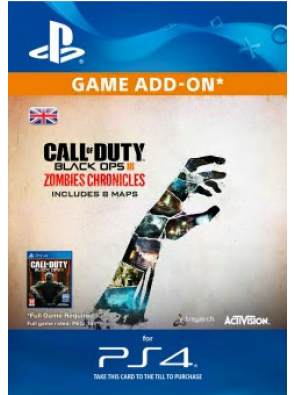 Call of Duty Black Ops III 3 Zombie Chronicles PS4