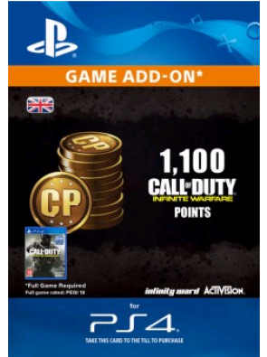 Call of Duty Infinite Warfare - 1100 Points PS4