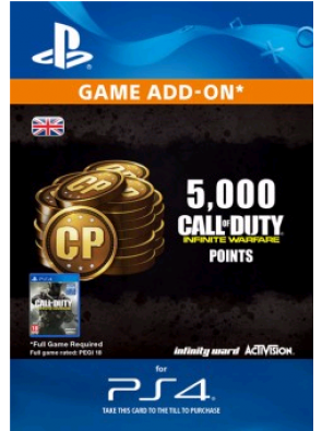 Call of Duty Infinite Warfare - 5000 Points PS4