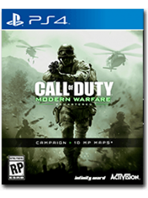 Call of Duty Modern Warfare Remastered PS4 - Digital Code