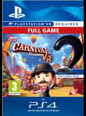 Carnival Games VR PS4
