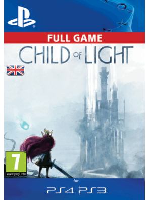 Child of Light PS3/PS4 - Digital Code