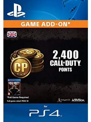 Call of Duty Black Ops III 3 Points 2000 (+400) PS4
