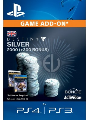 Destiny Silver 2000 (300) PS4
