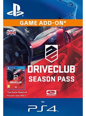 DRIVECLUB Season Pass PS4