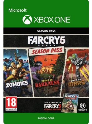 Far Cry 5 Season Pass Xbox One