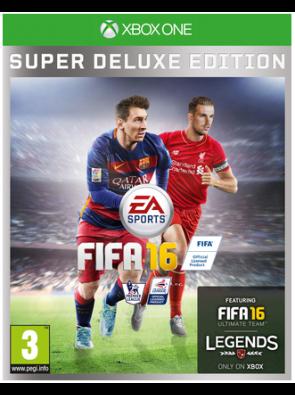 FIFA 16 Super Deluxe Edition Xbox One - Digital Code
