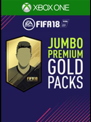 FIFA 18 (Xbox One) - 5 Jumbo Premium Gold Packs DLC