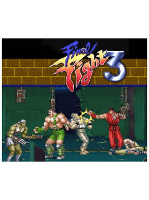 Final Fight 3 3DS - Game Code (ENG)