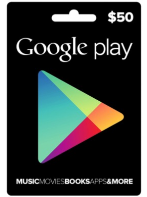 Google Play Gift Card $50 USD