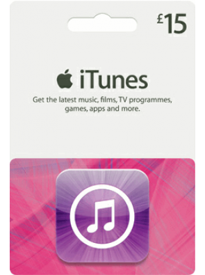 iTunes Gift Card - £15