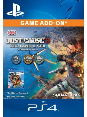 Just Cause 3 Air, Land and Sea Expansion Pass PS4