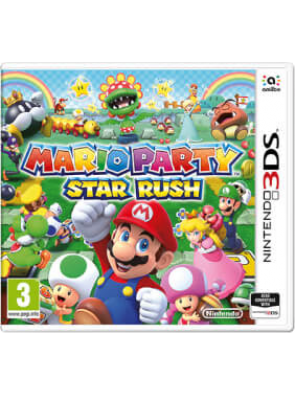 Mario Party Star Rush 3DS - Game Code
