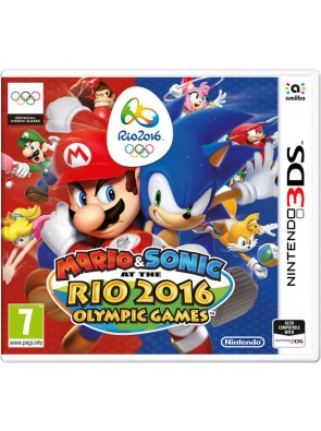 Mario and Sonic at the Rio 2016 Olympic Games 3DS - Game Code