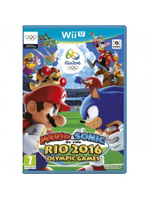 Mario and Sonic at the Rio 2016 Olympic Games 2016 Wii U - Game Code