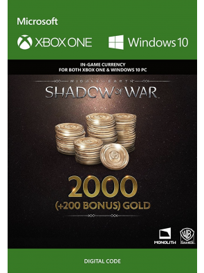 Middle-Earth: Shadow of War - 2200 Gold Xbox One