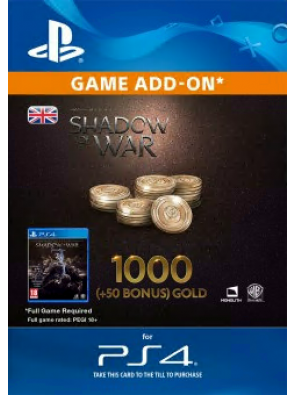 Middle-Earth: Shadow of War - 1050 Gold PS4
