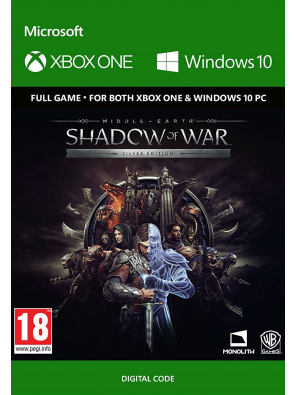 Middle-Earth: Shadow of War Silver Edition Xbox One / PC