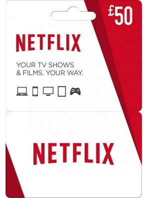 Netflix Gift Card - £50