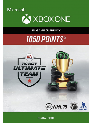 NHL 18: Ultimate Team NHL Points 1050 Xbox One