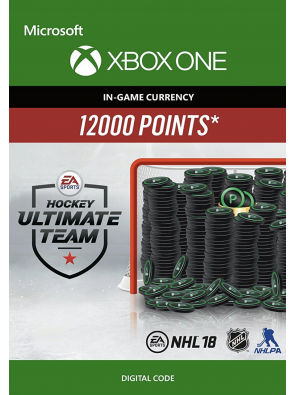 NHL 18: Ultimate Team NHL Points 12000 Xbox One