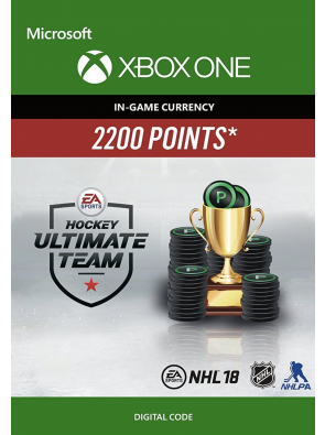 NHL 18: Ultimate Team NHL Points 2200 Xbox One
