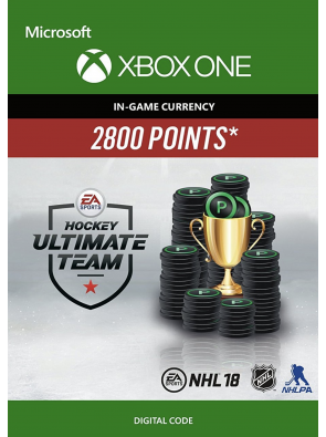 NHL 18: Ultimate Team NHL Points 2800 Xbox One