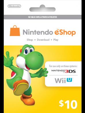 Nintendo eShop Card 10 USD