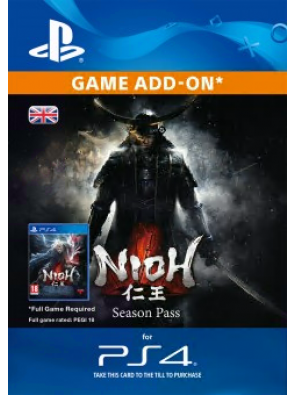 Nioh Season Pass PS4