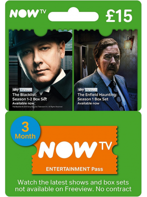 NOW TV - Entertainment 3 Month Pass