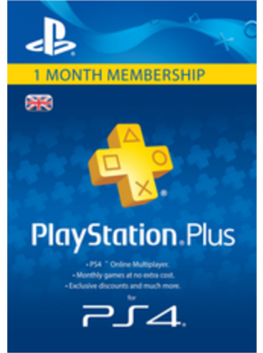 PlayStation Plus (PS+) - 1 Month Subscription (UK)