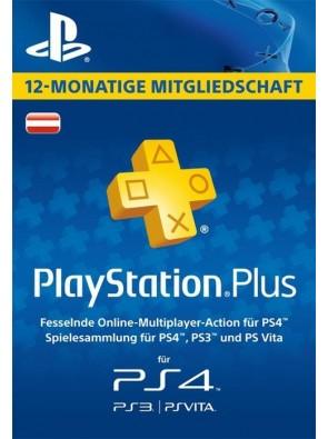 PlayStation Plus - 12 Month Subscription (Austria)