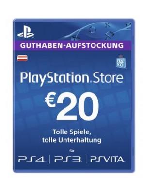 PlayStation Network (PSN) Card - 20 EUR (Austria)