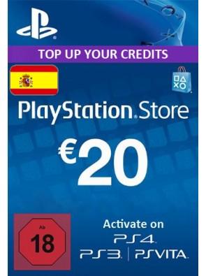 PlayStation Network (PSN) Card - 20 EUR (Spain)