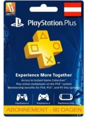 PlayStation Plus - 3 Month Subscription (Austria)