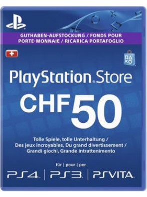 PlayStation Network (PSN) Card - 50 CHF (Switzerland)