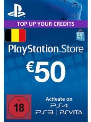 PlayStation Network (PSN) Card - 50 EUR (Belgium)