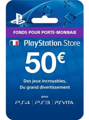 PlayStation Network (PSN) Card - 50 EUR (France)